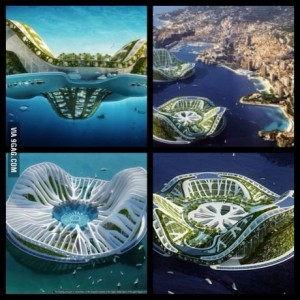 Floatable city concept