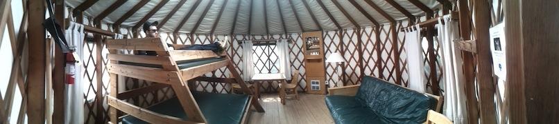 yurt - panorama