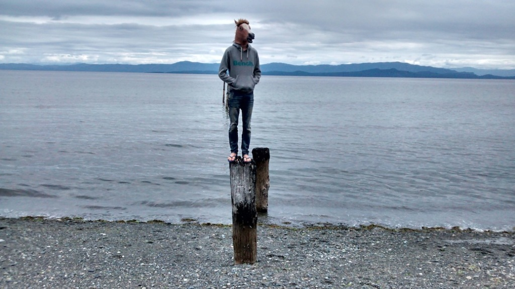 Qualicum beach stop on the way to the falls